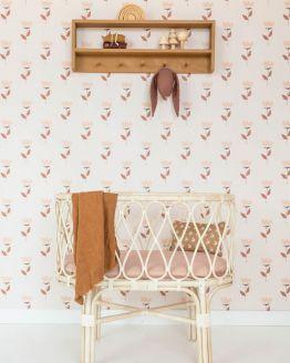 Behang Retro Kidsroom