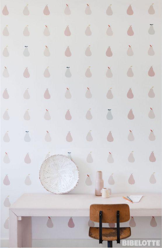Bibelotte | Behang Retro Bloem roze