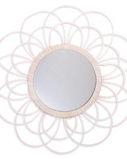 Zoom | spiegel | wit | 45 cm