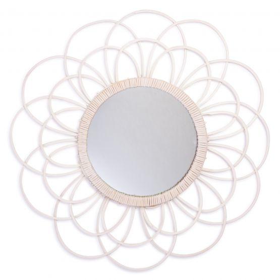 Zoom   spiegel   wit   45 cm