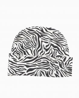 Huusje kids | newborn mutsje | zebra