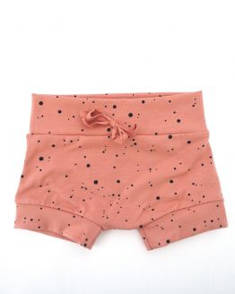 Huusje kids | short | terracotta dot