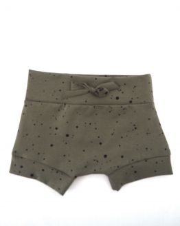 Huusje kids | short | army green dot