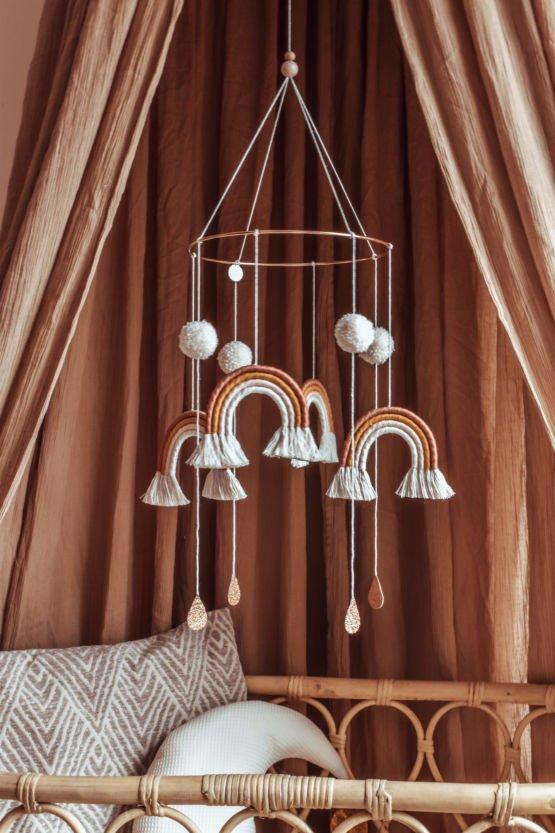 Cotton Design   Pompom Mobiel