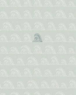 Bibelotte | Behang Zeebries - blauw /denimblauw