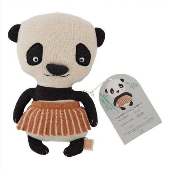 PRE ORDER - VERWACHT EIND JULI - OYOY - LUN LUN PANDA BEAR