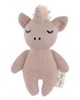Konges Slojd | Knuffel Mini Unicorn Rose Fawn