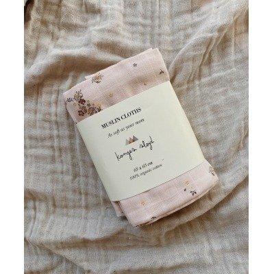 Konges Slojd | Hydrofiele doeken 3 st. Nostalgie Blush
