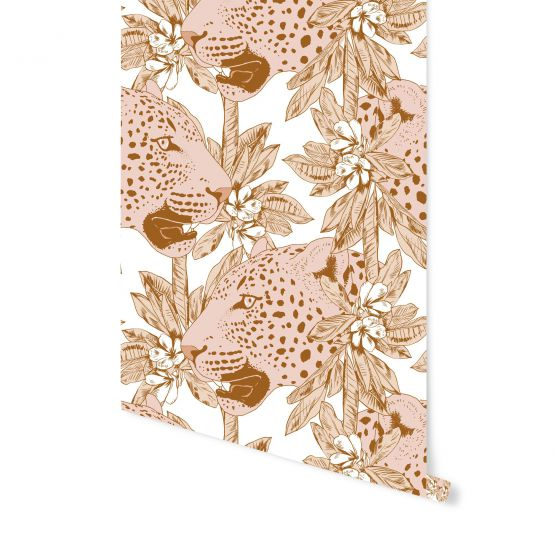 May & Fay | Behang Pinky Leopard