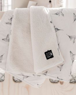 Mies & Co | Ledikantdeken Little Dreams Offwhite