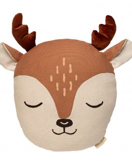 Nobodinoz | Deer kussen Sienna Brown
