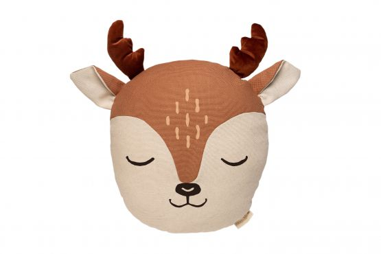 Nobodinoz   Deer kussen Sienna Brown