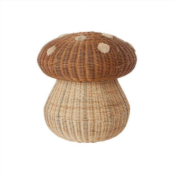 PRE ORDER   OYOY Living   Opbergmand Paddenstoel - Mushroom basket