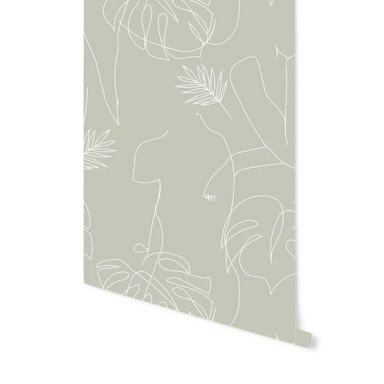 May & Fay | Behang Natural Woman (kleur Tranquil Dawn)