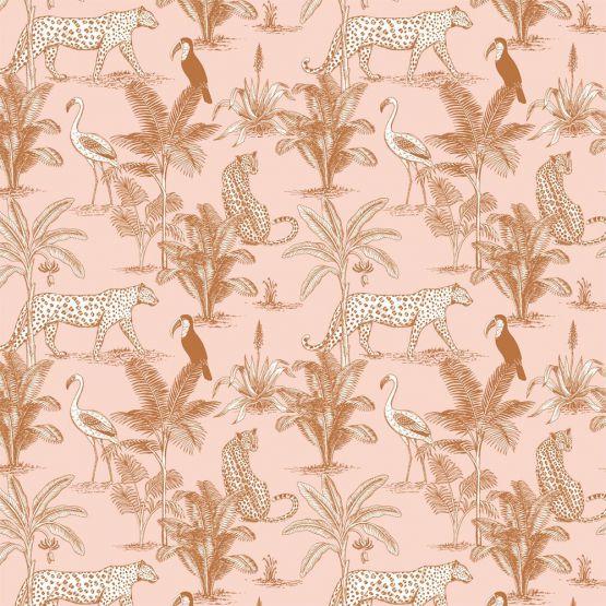 May & Fay   Behang Jungle Blush
