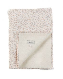 Mies & Co | Ledikantdeken soft teddy Wild Child chalk pink