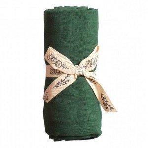 PLAY AT SLAEP | organic XL Cloth / swaddle - Eden Green