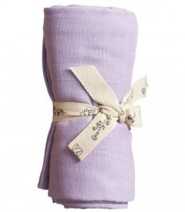 PLAY AT SLAEP | organic XL Cloth / swaddle - Violet