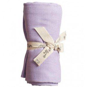 PLAY AT SLAEP | organic XL Cloth / swaddle - Violet