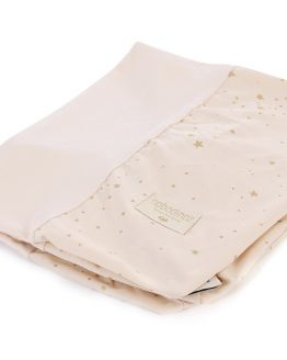 NOBODINOZ | Aankleedkussenhoes Calma - 70X50 - gold stella - dream pink