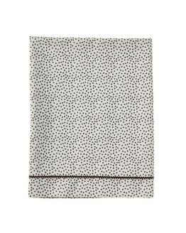 Mies & Co | Ledikantlaken Cozy Dots offwhite