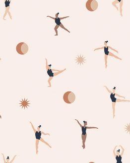 May & Fay   Behang Cosmic Dancers