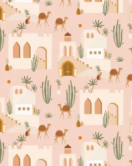 May & Fay | Behang Oasis Pink