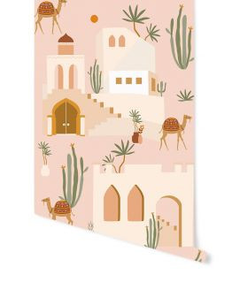 May & Fay | Behang Oasis Pink