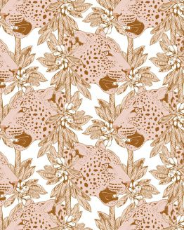 May & Fay | Behang Pinky Leopard