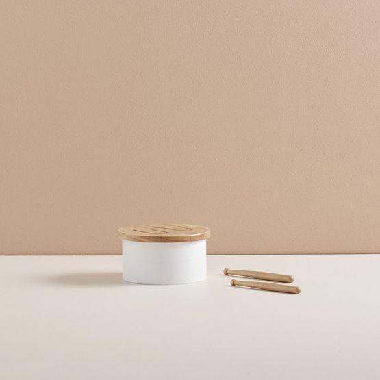 Kids Concept | Houten trommel - Wit