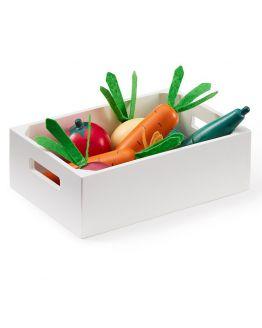 Kids Concept | Houten groentenkistje