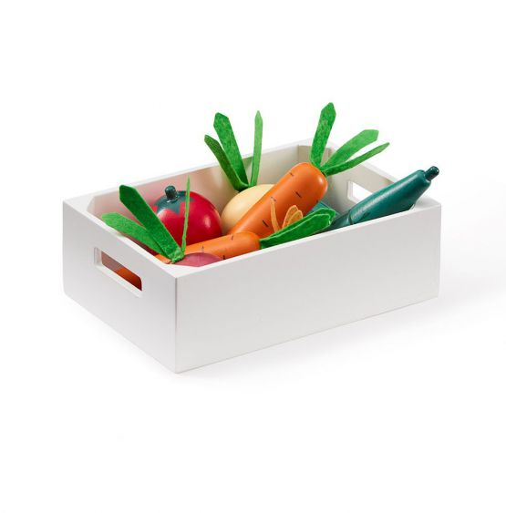 Kids Concept   Houten groentenkistje