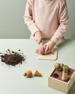 Kids Concept | Houten mini plantbakje