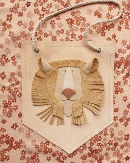 Atelier Ovive | Muurhanger lion (div. kleuren)