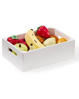 Kids Concept | Houten fruitkistje mix