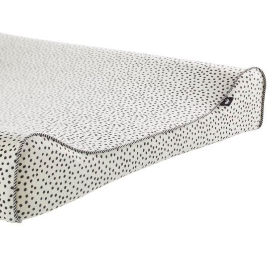 Mies & Co | Aankleedkussenhoes Cozy dots offwhite