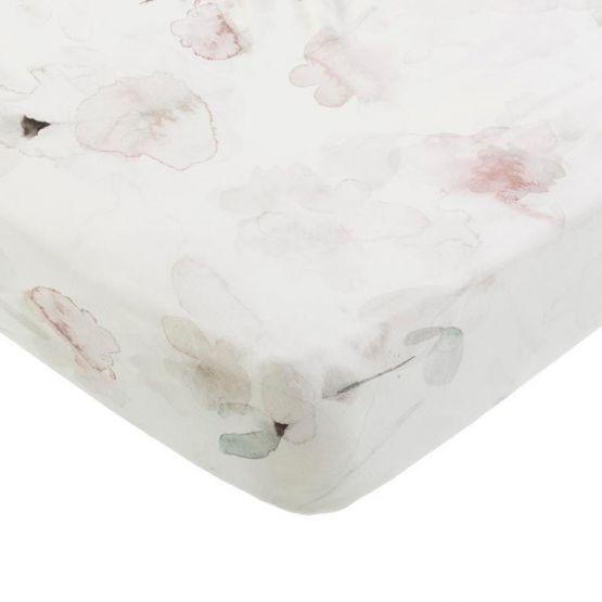 Mies & Co | Ledikant hoeslaken Forever Flower offwhite