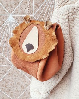 Atelier Ovive | Grizzly bear bag (div. kleuren)