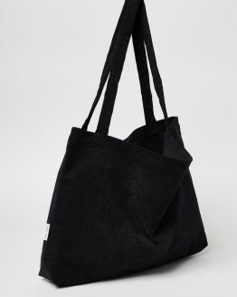 Studio Noos | Mom bag - All black rib