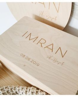 Mommies and Miracles | Houten memory box klein