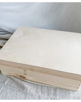 Mommies and Miracles | Houten memory box groot